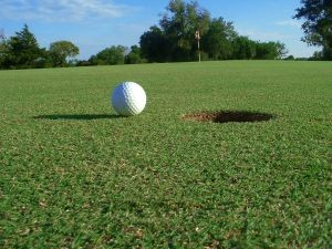 A hole in one - the power of the universe, or brilliance?