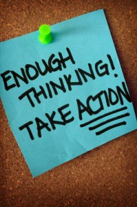 Manifesting success depends on you taking action